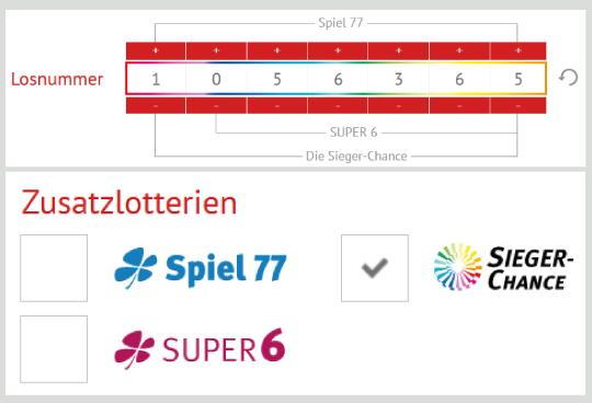 GlГјcksspirale Sieger Chance Zahlen